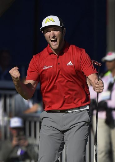 Jon Rahm, chosen Revelation Sportsman in the National Sports Awards 2017.
