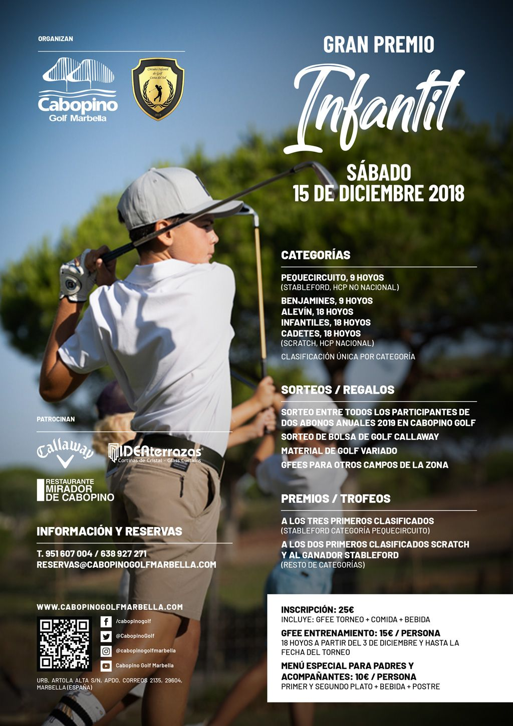 Cabopino Golf Children's Tournament