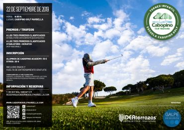 Cabopino School Children's Tournament – September 22nd