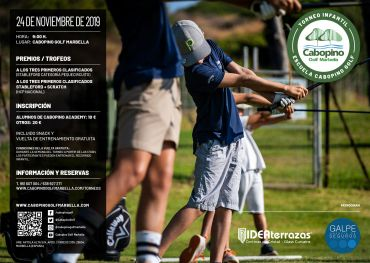 Cabopino School Children's Tournament – November 24th