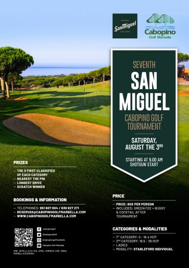 VII San Miguel Cabopino Golf Tournament
