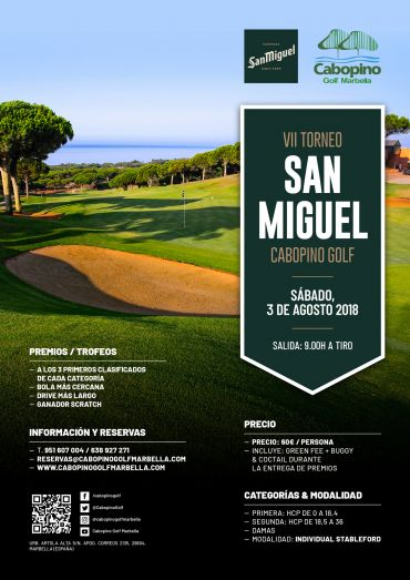 VII Torneo San Miguel Cabopino Golf