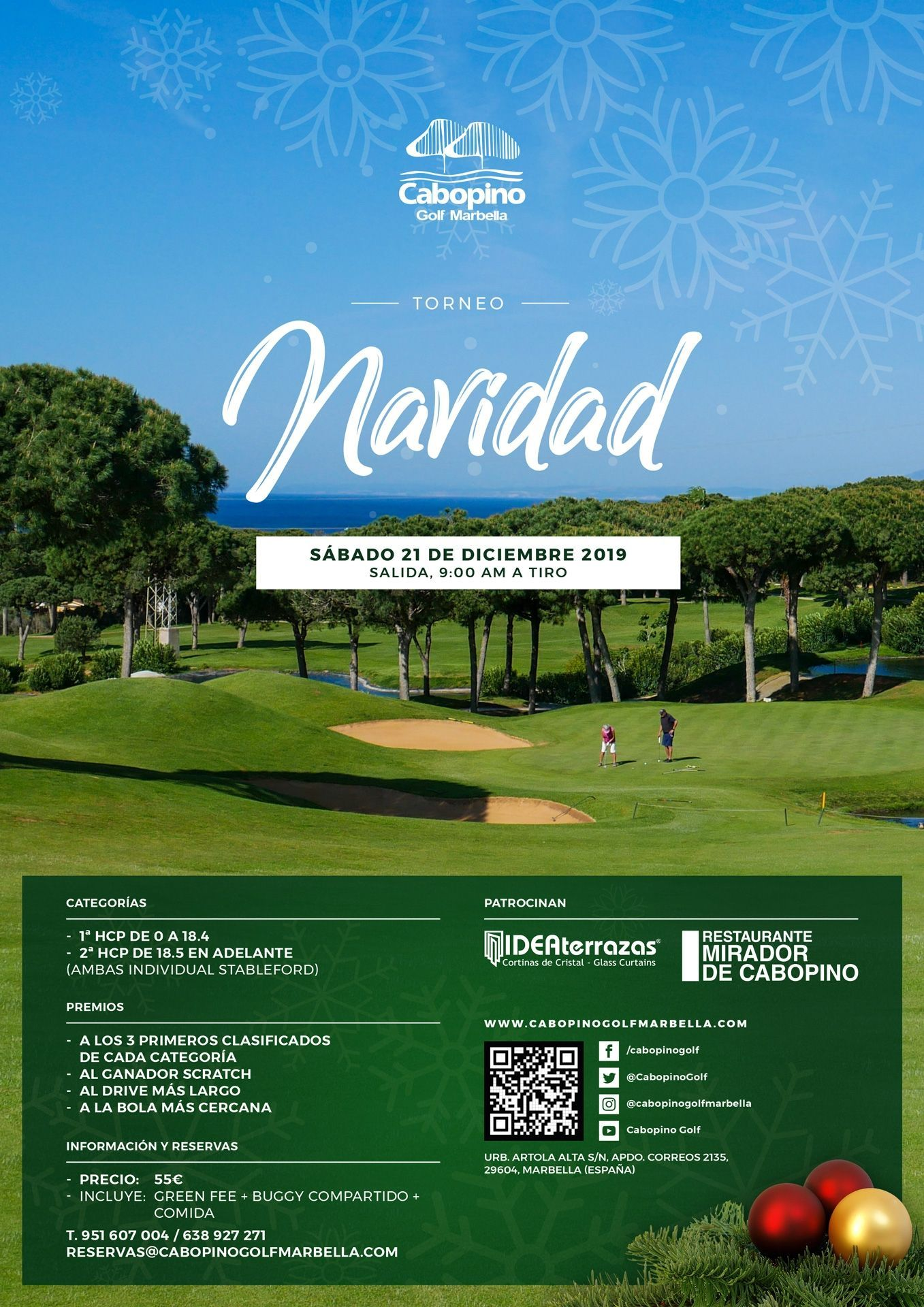 Cabopino Golf 2019 Christmas Tournament