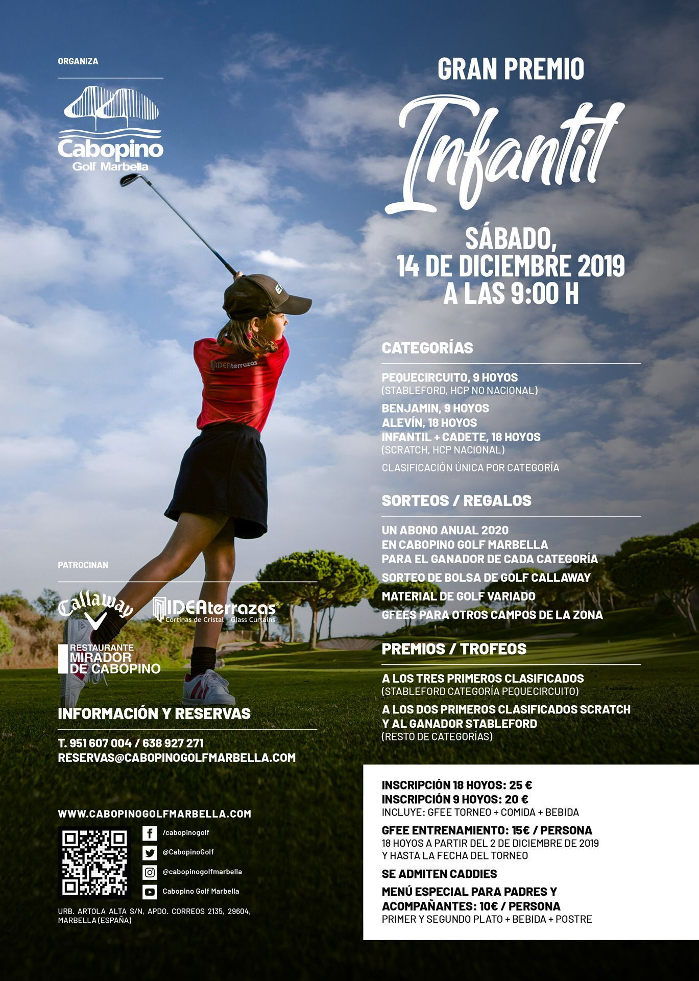 Cabopino Golf 2019 Children's Tournament