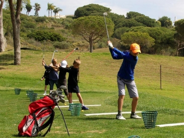 Find out about our golf lessons for children