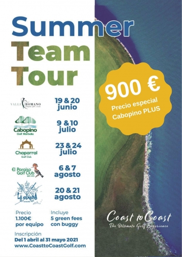 Torneo 'Summer Team Tour' Coast to Coast